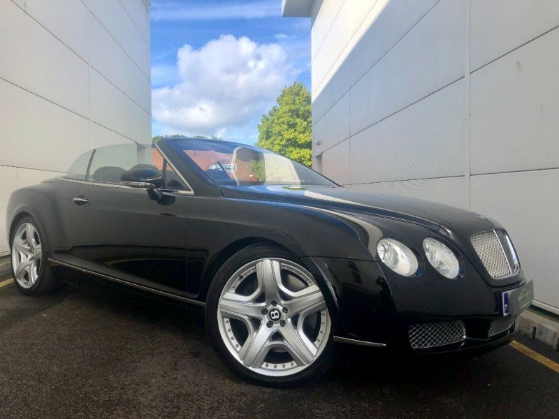 used Bentley Continental GTC (,21 INCH MULLINER TYPE WHEELS,HI SPEC) in cardiff-glamorgan