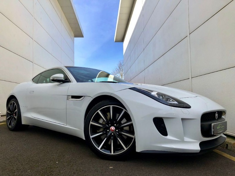 used Jaguar F-Type V6s (HI SPEC,PAN ROOF,SPORTS SEATS,2 OWNER,FSH) in cardiff-glamorgan