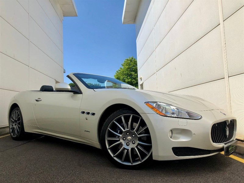 used Maserati Granturismo GRANCABRIO in cardiff-glamorgan
