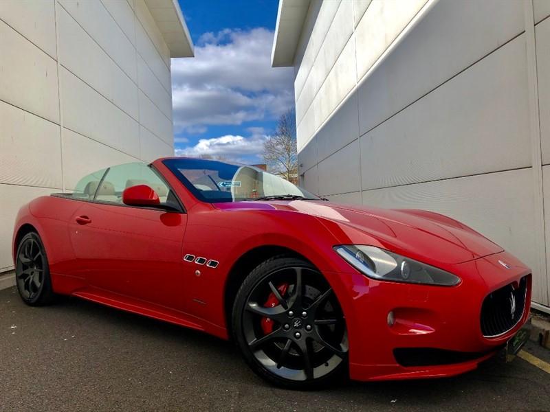 used Maserati Granturismo GRANCABRIO SPORT in cardiff-glamorgan