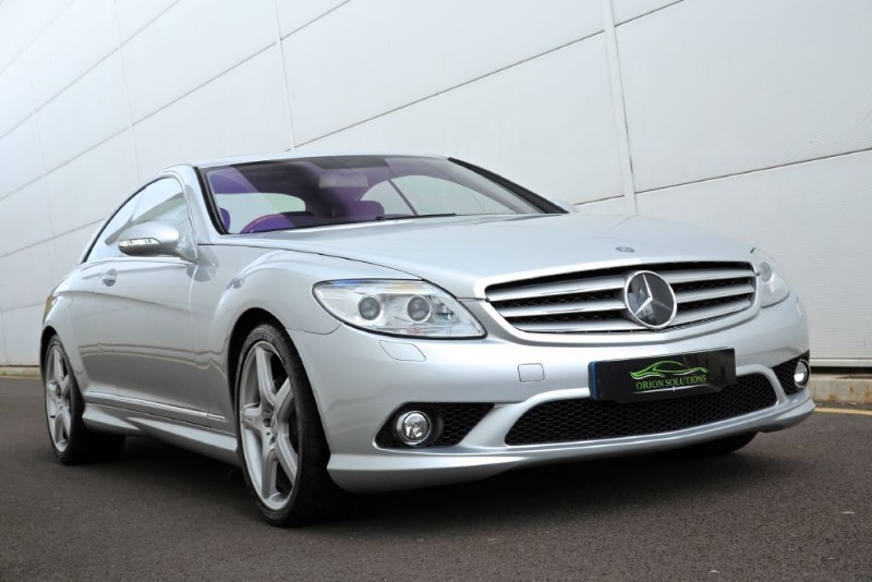 Used Bright Silver Met Mercedes Cl55 Amg For Sale South