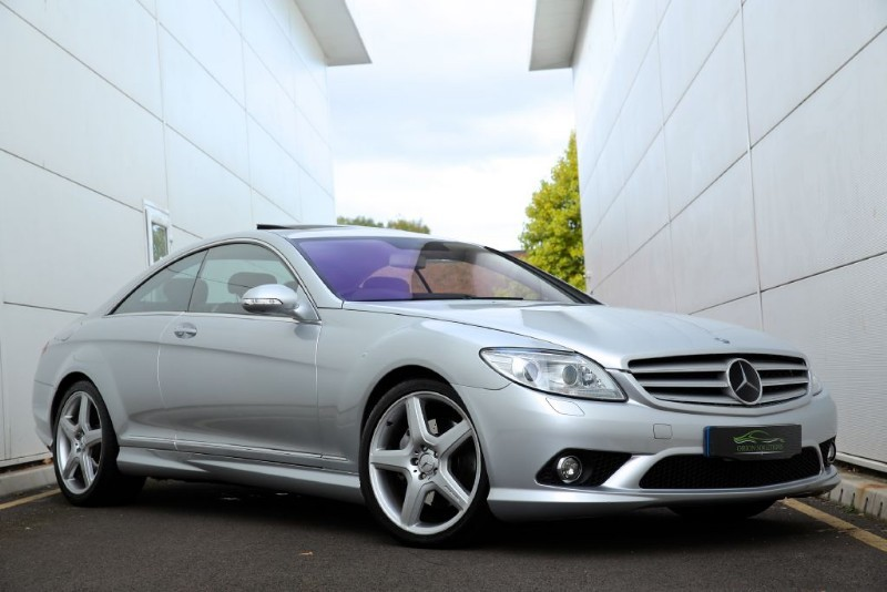 used bright silver met mercedes cl55 amg for sale south glamorgan. Black Bedroom Furniture Sets. Home Design Ideas