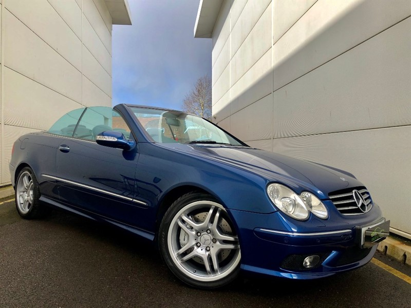Mercedes CLK55 AMG for sale