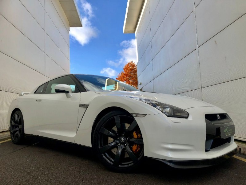 used Nissan GT-R BLACK EDITION (2 OWNERS UNMOLESTED FULL HIST) in cardiff-glamorgan