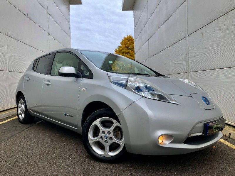 used Nissan Leaf EV AUTO (SATNAV,R CAMERA,B TOOTH, LOW MILES) in cardiff-glamorgan