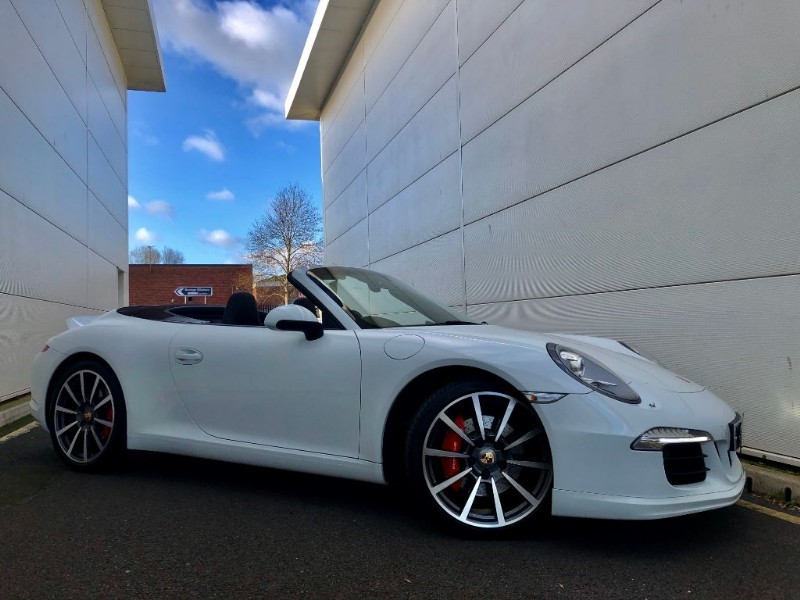 used Porsche 911 CARRERA S PDK (HUGE SPEC,SPORT DESIGN PACK) in cardiff-glamorgan