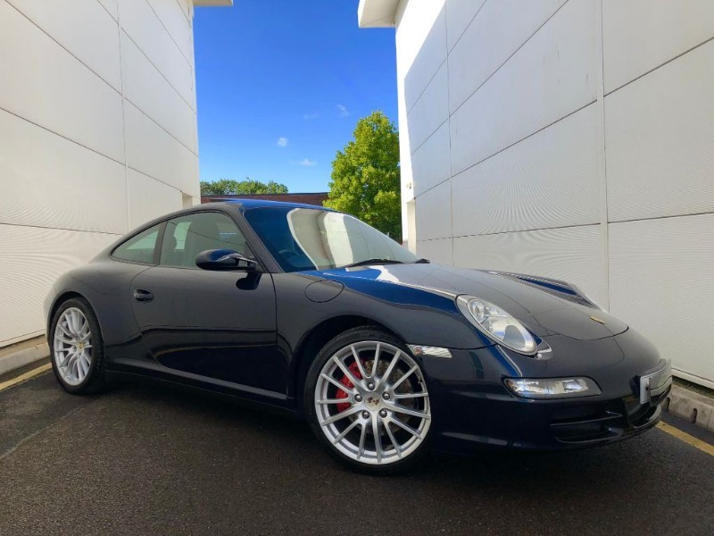 used Porsche 911 CARRERA 4 S (MANUAL CAR BEST COLOUR AND SPECIFICATION, FULL SERV HIST) in cardiff-glamorgan