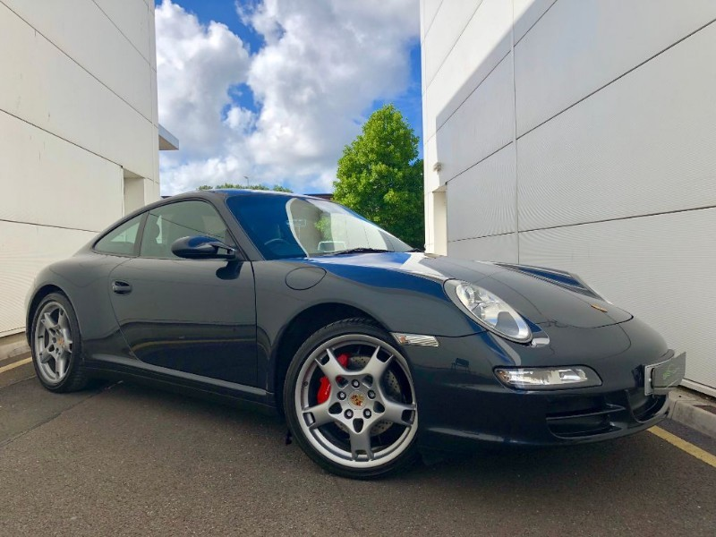 used Porsche 911 CARRERA 4 S (HI SPEC,2 OWNERS,MANUAL) in cardiff-glamorgan