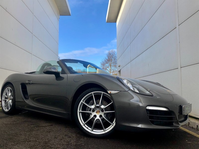 used Porsche Boxster 24V PDK in cardiff-glamorgan