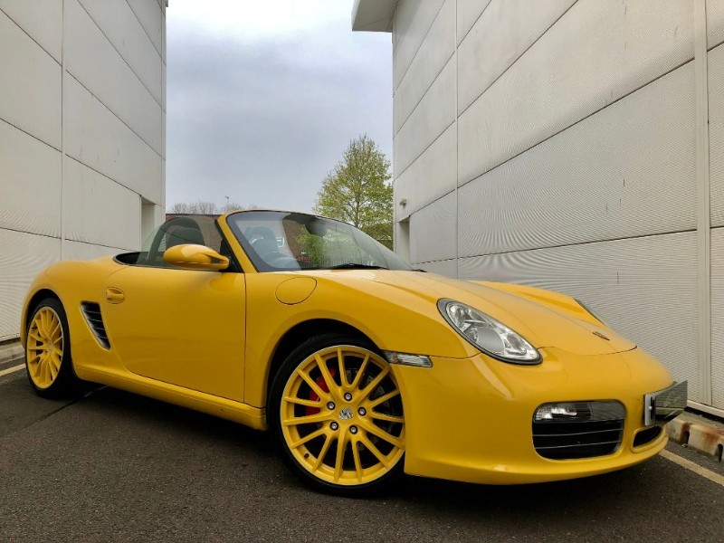 used Porsche Boxster 24V S (HUGE SPEC,BEST COLOUR,HISTORY) in cardiff-glamorgan
