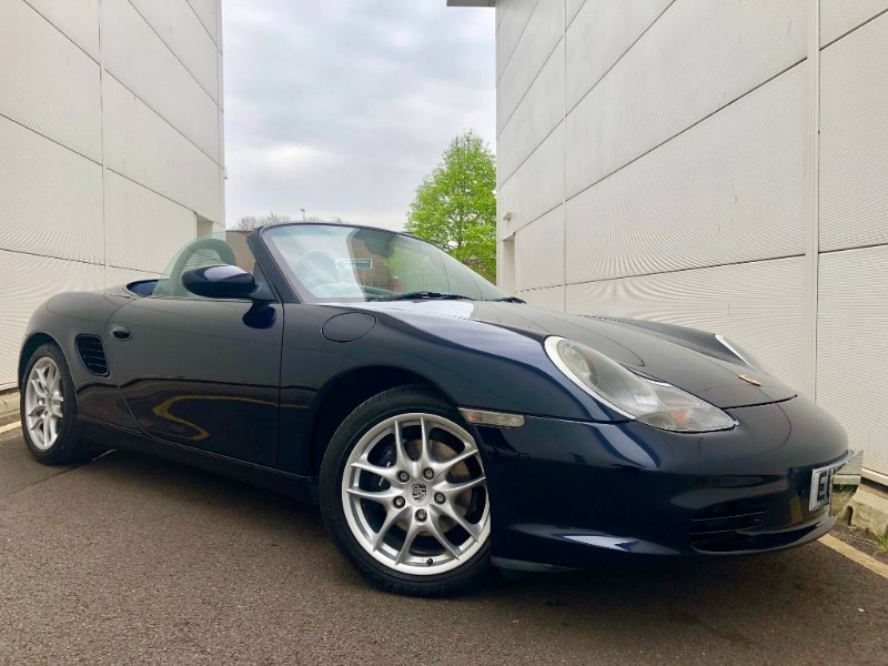 used Porsche Boxster SPYDER (GREAT SPECNAVIGATION, COLOUR COMB WITH FSH in cardiff-glamorgan