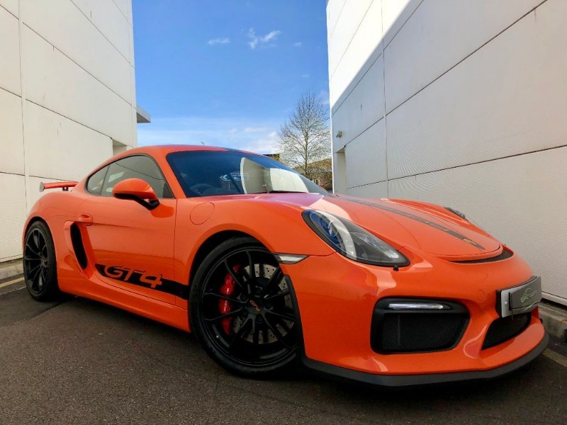 used Porsche Cayman GT4 (CLUBSPORT)( 1 OF 1) in cardiff-glamorgan