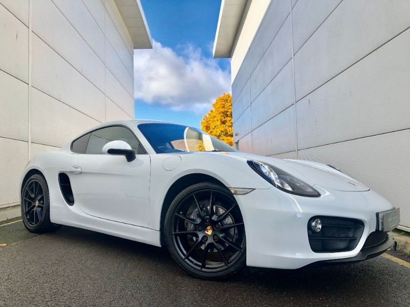 used Porsche Cayman 24V PDK (BEST COLOUR COMB,20 WHEELS,SERV HIST) in cardiff-glamorgan