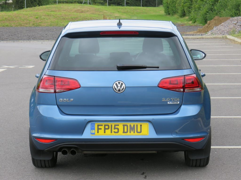 used pacific blue vw golf for sale wiltshire