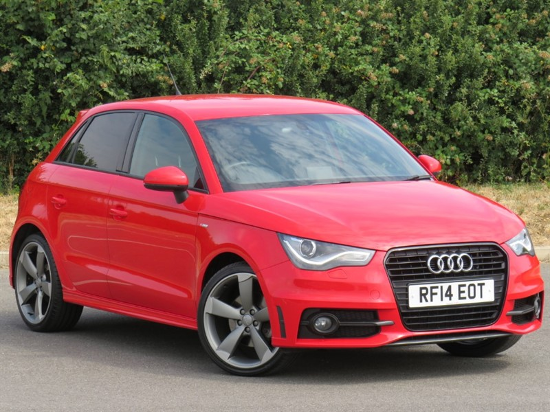 used Audi A1 SPORTBACK TFSI S LINE BLACK EDITION in swindon-wiltshire
