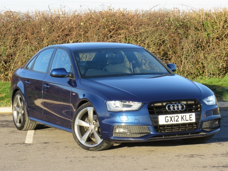 used Audi A4 TFSI S LINE BLACK EDITION in swindon-wiltshire