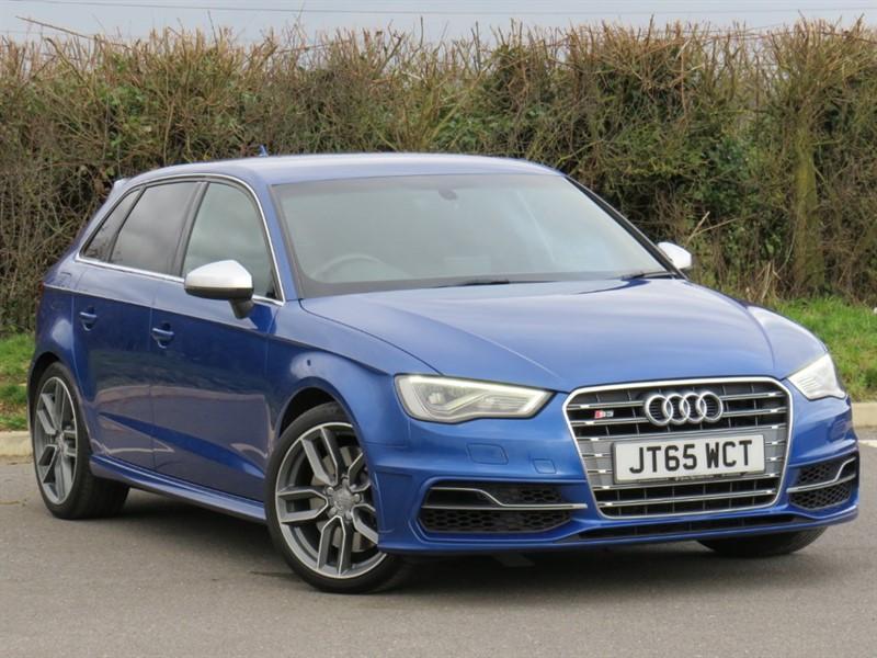 used Audi S3 SPORTBACK QUATTRO in swindon-wiltshire