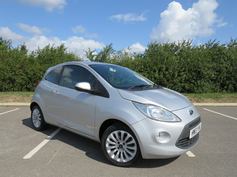 used Ford KA ZETEC in swindon-wiltshire