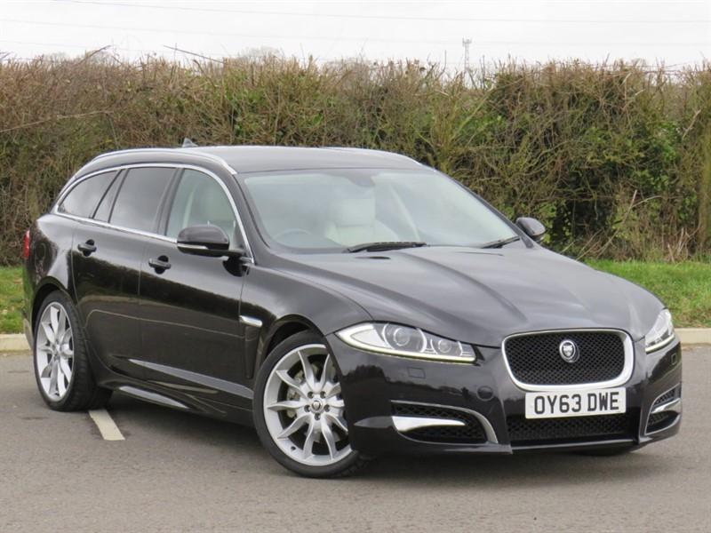 used Jaguar XF D V6 S PREMIUM LUXURY SPORTBRAKE in swindon-wiltshire