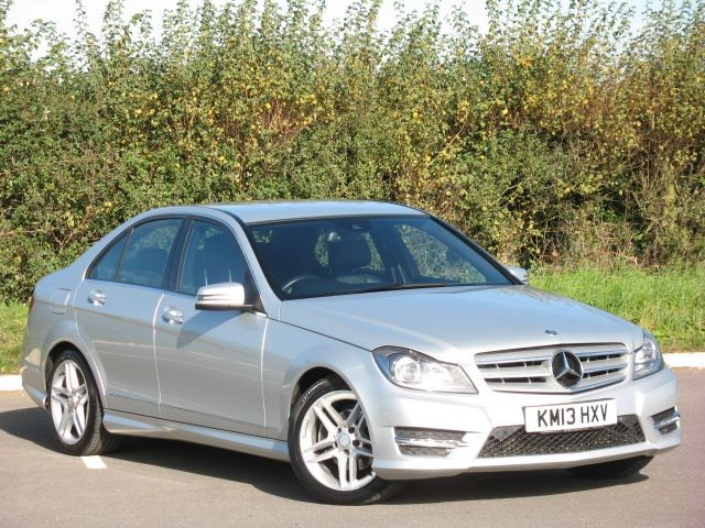 used Mercedes C220 CDI BLUEEFFICIENCY AMG SPORT in swindon-wiltshire
