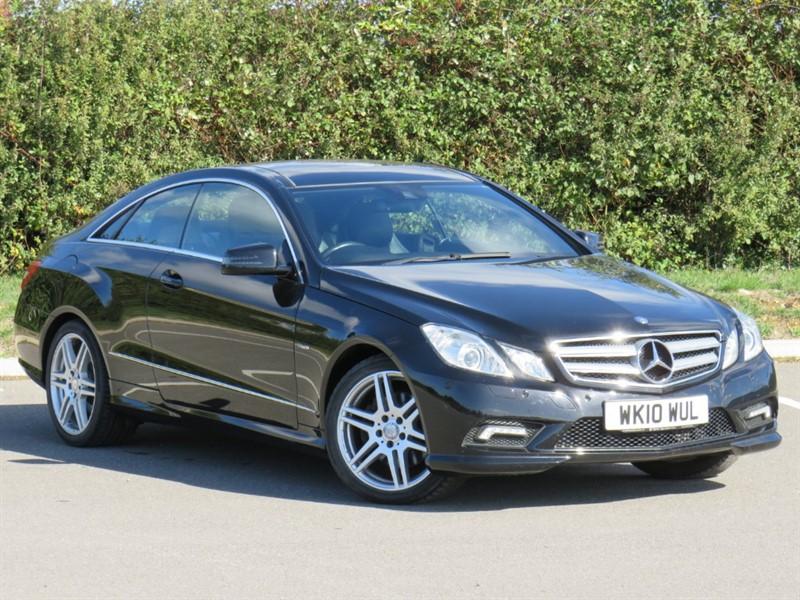 used Mercedes E350 CDI BLUEEFFICIENCY SPORT in swindon-wiltshire