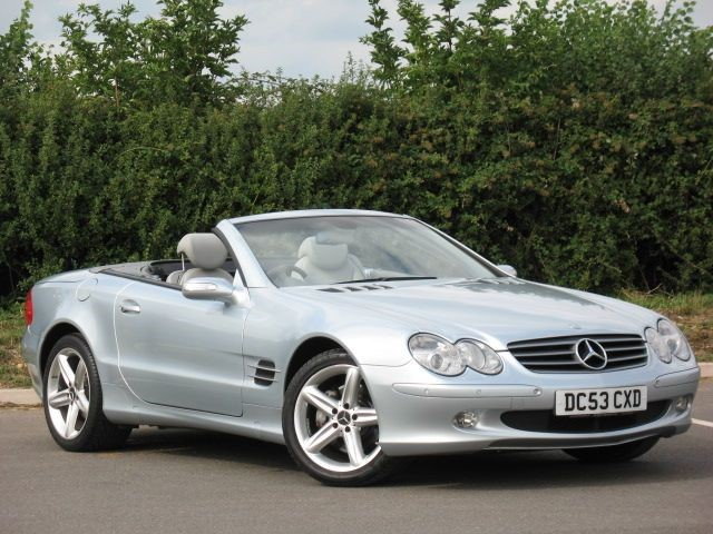 used Mercedes SL SL500 in swindon-wiltshire