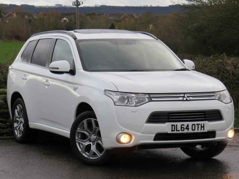 used Mitsubishi Outlander PHEV GX 4H in swindon-wiltshire