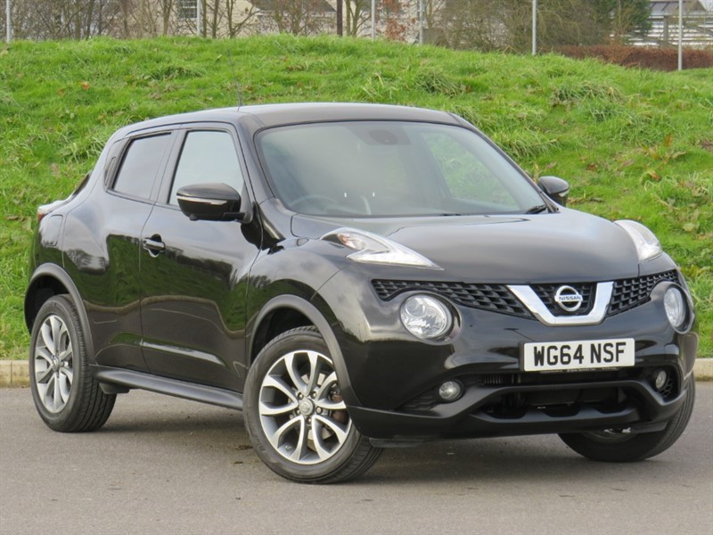 used Nissan Juke TEKNA DIG-T in swindon-wiltshire