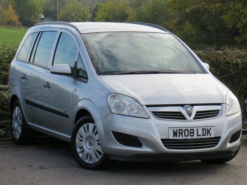 used Vauxhall Zafira LIFE 16V E4 in swindon-wiltshire