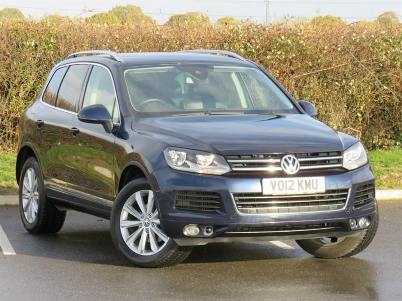 used VW Touareg V6 SE TDI BLUEMOTION TECHNOLOGY in swindon-wiltshire