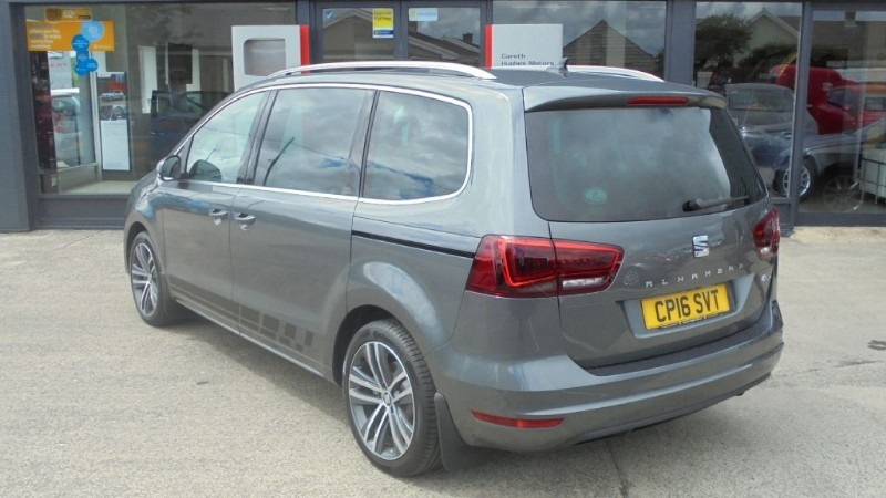 Used Grey Seat Alhambra For Sale Pembrokeshire