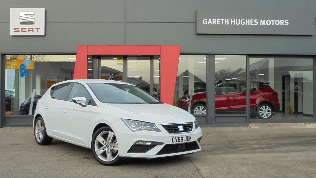 used met white seat leon for sale | pembrokeshire