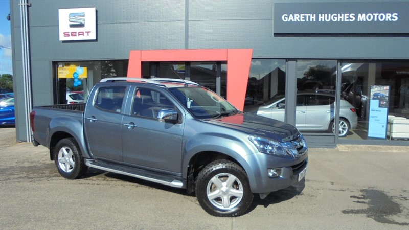 Used Isuzu D-Max TD UTAH VISION DCB in south-wales