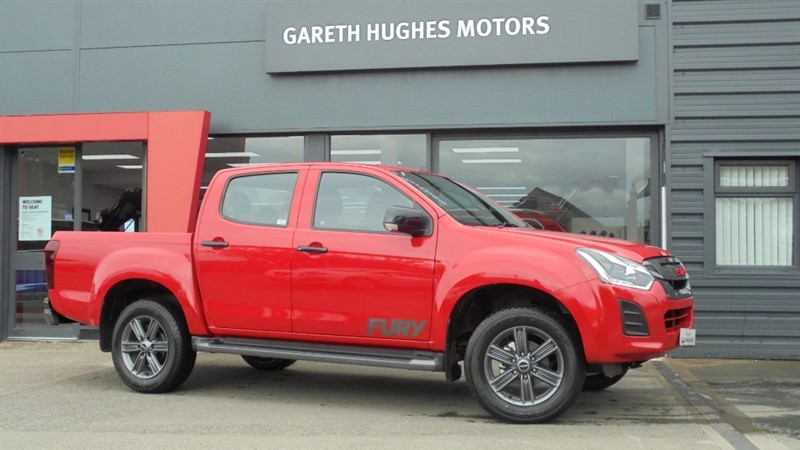 Used Isuzu D-Max YUKON DCB FURY in south-wales