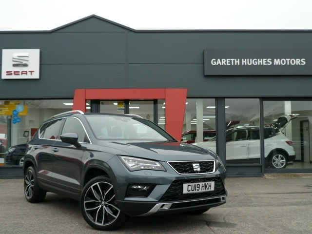 Used SEAT Ateca TDI XCELLENCE LUX DSG in south-wales