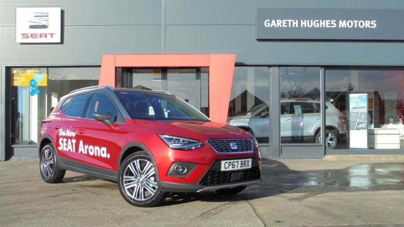 Used SEAT  ARONA TSI XCELLENCE FIRST EDITION in south-wales