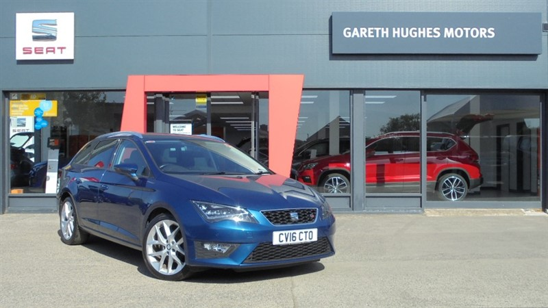 Used SEAT Leon ECOTSI FR TECHNOLOGY in south-wales