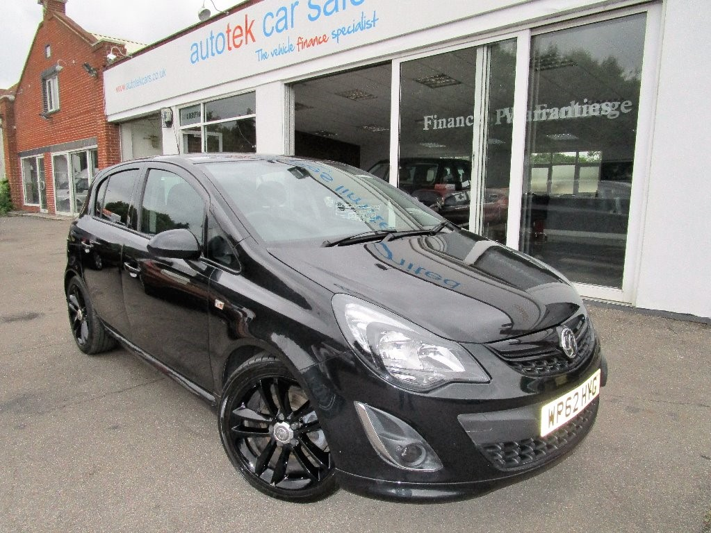 used Vauxhall Corsa BLACK EDITION in surrey