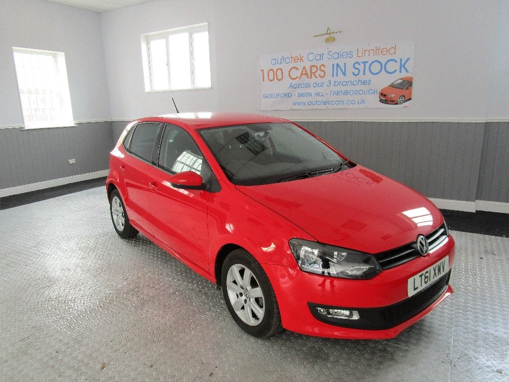 used VW Polo MATCH DSG in surrey