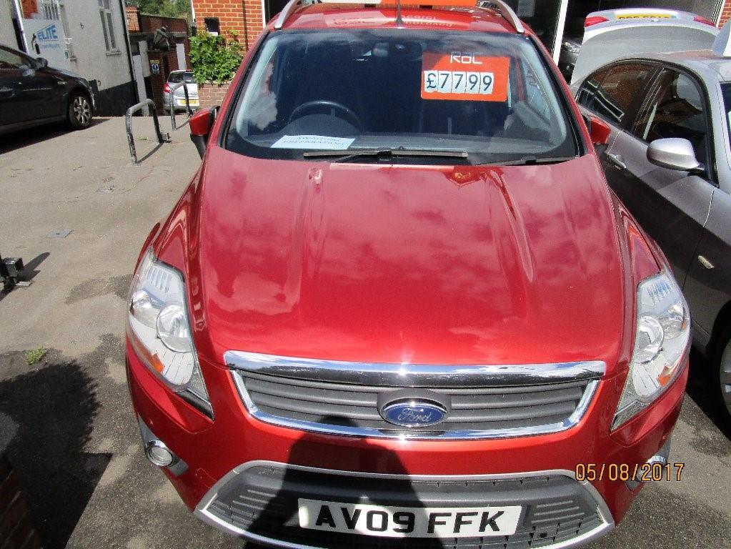 used Ford Kuga TITANIUM TDCI AWD in surrey