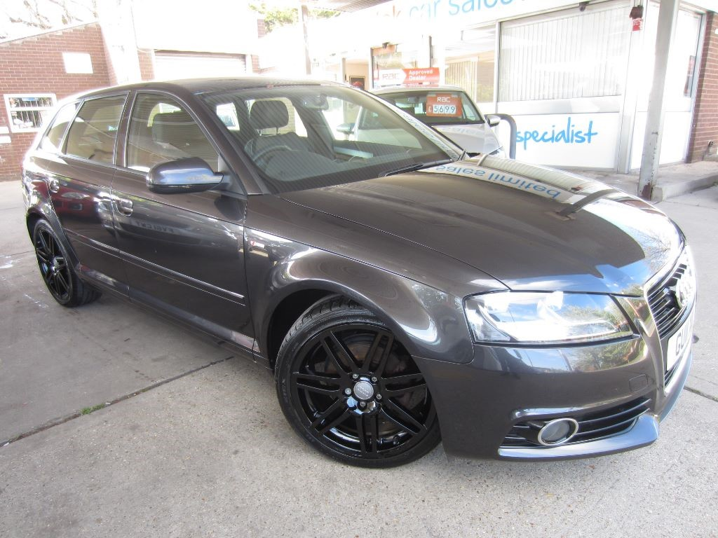 used Audi A3 SPORTBACK TDI S LINE in surrey