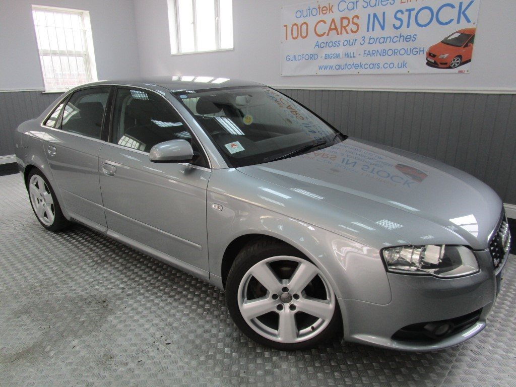used Audi A4 TDI S LINE TDV in surrey