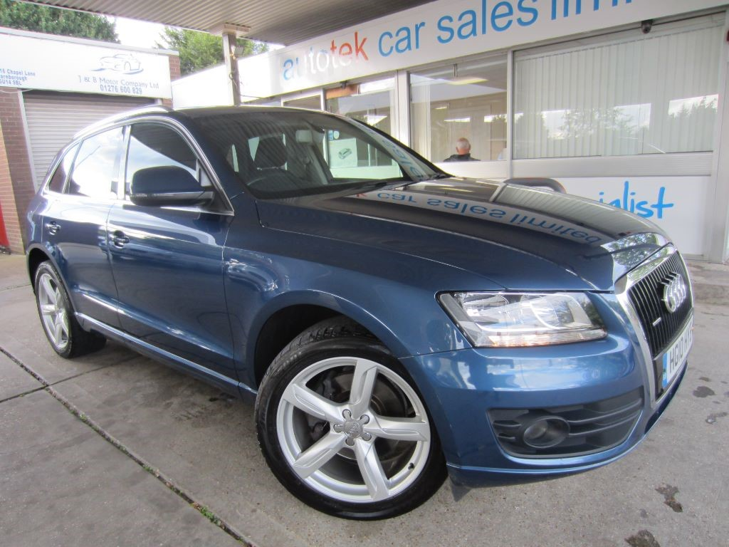 used Audi Q5 TDI QUATTRO SE in surrey