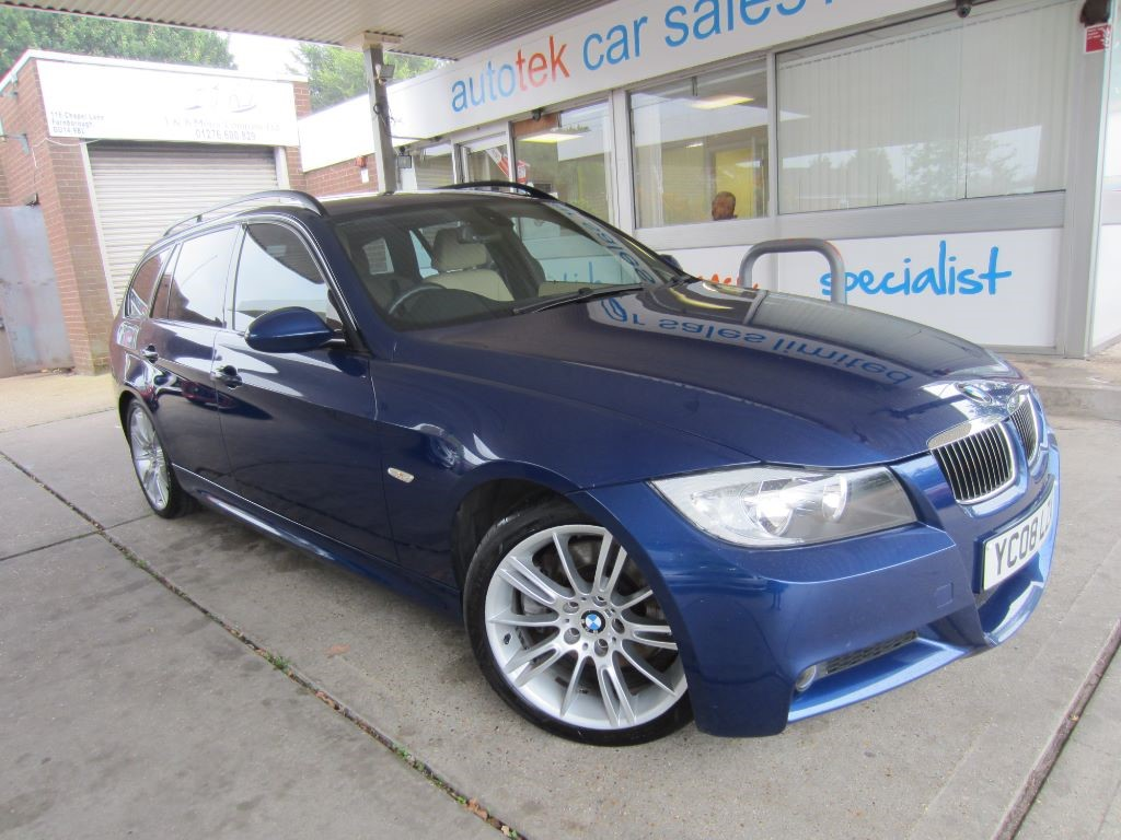 used BMW 325d M SPORT TOURING in surrey
