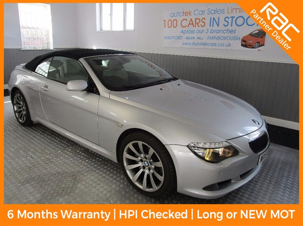 used BMW 635d SPORT in surrey