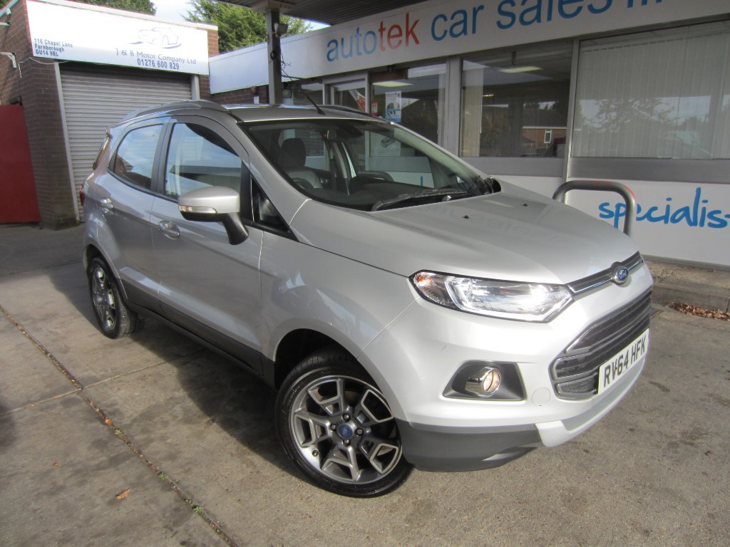 used Ford EcoSport TITANIUM X-PACK TDCI in surrey