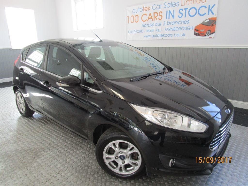 used Ford Fiesta ZETEC ECONETIC TDCI in surrey
