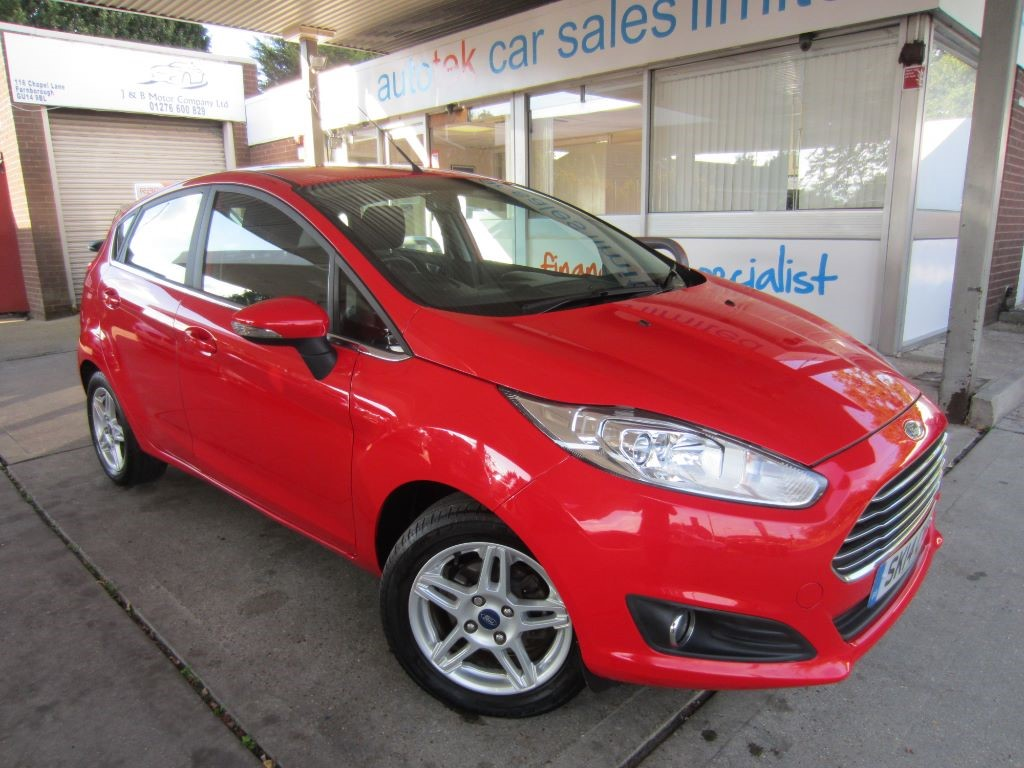 used Ford Fiesta ZETEC in surrey