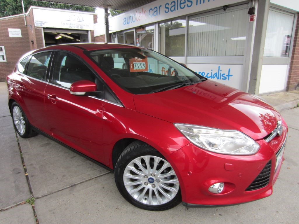 used Ford Focus TITANIUM X TDCI in surrey