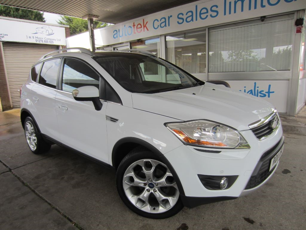 used Ford Kuga TITANIUM TDCI AWD in surrey